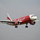 Air Asia airplane by bayu harsa