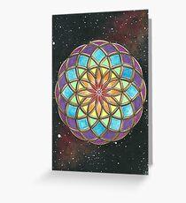 Universal Healing Love Torus Greeting Card
