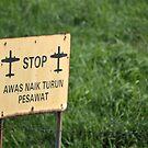 airport sign by bayu harsa