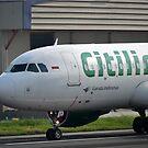 Citilink airplane by bayu harsa