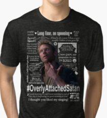 You know where to aim, cowboy. [For dark shirts] Tri-blend T-Shirt