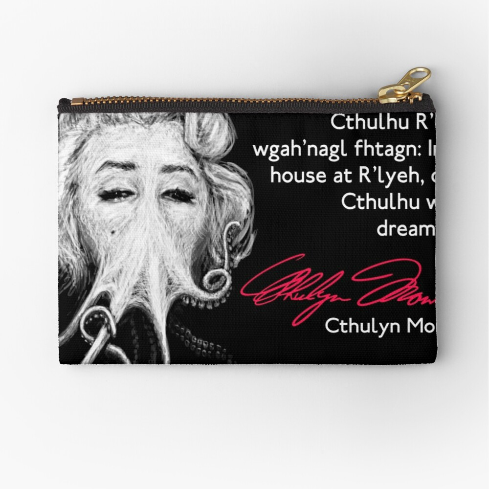 Inspirational Quote Zipper Pouch