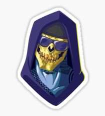 Skeletor - Rappers of the Universes [Heman] Glossy Sticker