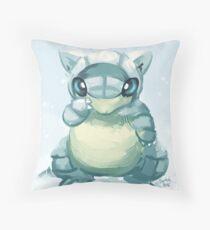 Alolan Sandshrew Throw Pillow