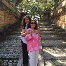 Me & Mum at Viscaya by Heidi  Jacobsen