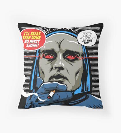 Post-Punk Break Down Throw Pillow
