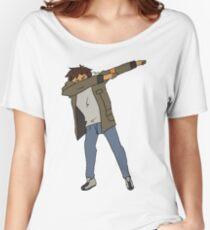 Lance Dabbing Women's Relaxed Fit T-Shirt