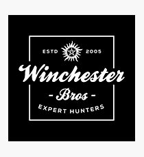 Winchester Bros - Expert Hunters Photographic Print
