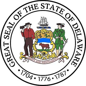 Seal of Delaware  by abbeyz71