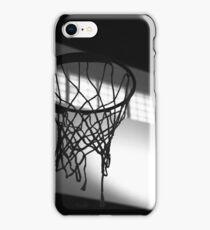 Basketball Hoop Silhouette  iPhone Case/Skin
