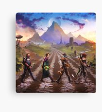 Advenrures Road Canvas Print