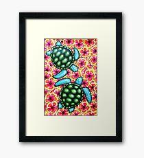 Hibiscus Sea Framed Print