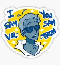 Lance says Vol-Tron Sticker