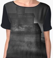 Backlit Barn Women's Chiffon Top