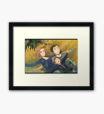 Xfiles - What if (william) Framed Print