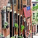 Boston MA - Acorn Street by Susan Savad