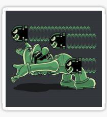 Mario matrix Sticker