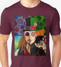 Johnny Depp Personnage Collage T-shirt unisexe