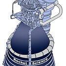 Rocket Science Space Art by Jim Plaxco