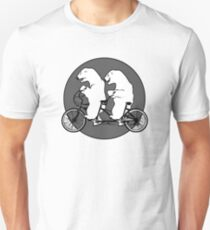 Bi-Polar Bears on a Tandem Bike T-Shirt