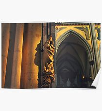 Cathedral Angel Poster