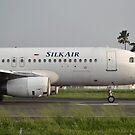 Silk Air airplane by bayu harsa