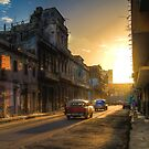 Cuban streets by Chris  Staring