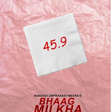 Bhaag Milkha Bhaag - Minimal Poster by sugi007