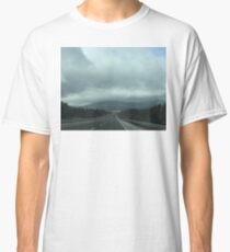 Storm on the road Classic T-Shirt