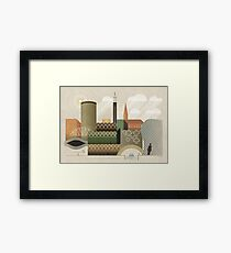 Autumn in Brum Framed Print