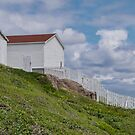 At Cape Spear, NL, Canada by Gerda Grice