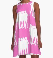 ~La Reconquista~ Silhouette A-Line Dress