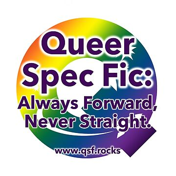 QSF Forward Logo - White by queerscifi