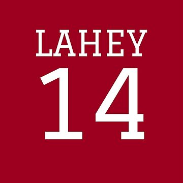 Lahey Jersey Number by angelacole