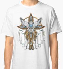 Native American Snowy Owl Mandala Classic T-Shirt