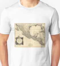 Vintage Map of Mexico (1779) Unisex T-Shirt
