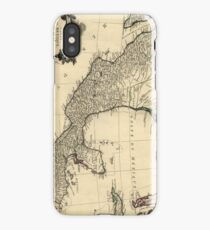 Vintage Map of Mexico (1779) iPhone Case