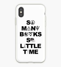 So Many books so little time iPhone Case
