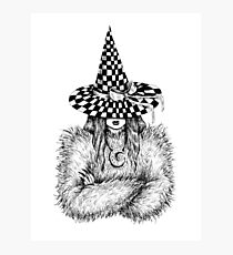 Witchy Photographic Print