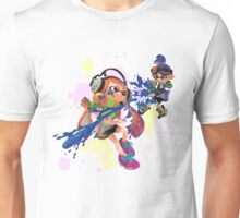 Splatoon - Low Poly Unisex T-Shirt