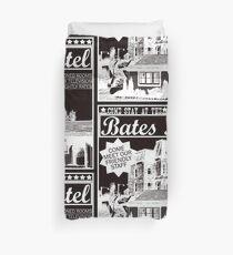 Bates Motel - White Type Duvet Cover