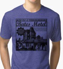Bates Motel - Black Type Tri-blend T-Shirt