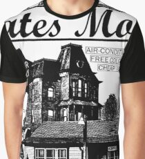 Bates Motel - Black Type Graphic T-Shirt