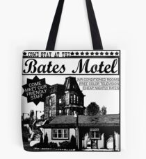 Bates Motel - Black Type Tote Bag