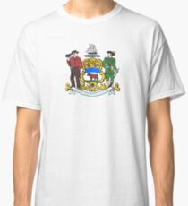 Coat of Arms of Delaware  Classic T-Shirt