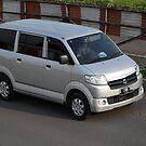 silver colored suzuki APV by bayu harsa