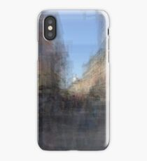 Rue St. Paul E Montreal streetscape iPhone Case/Skin