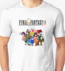 Final Fantasy 9 Characters Unisex T-Shirt
