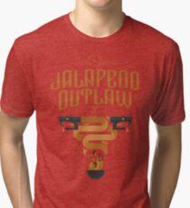Jalapeno Outlaw SNAKE Tri-blend T-Shirt