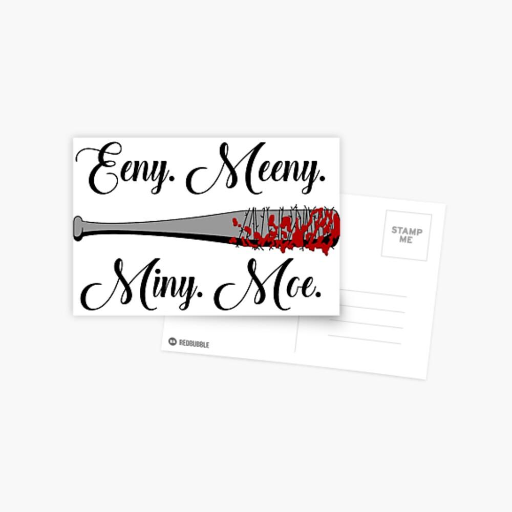 Die Walking Dead - Lucille Eeny Meeny Postkarte